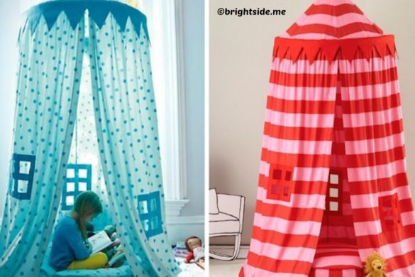 diy indoor tent for kids tutorial