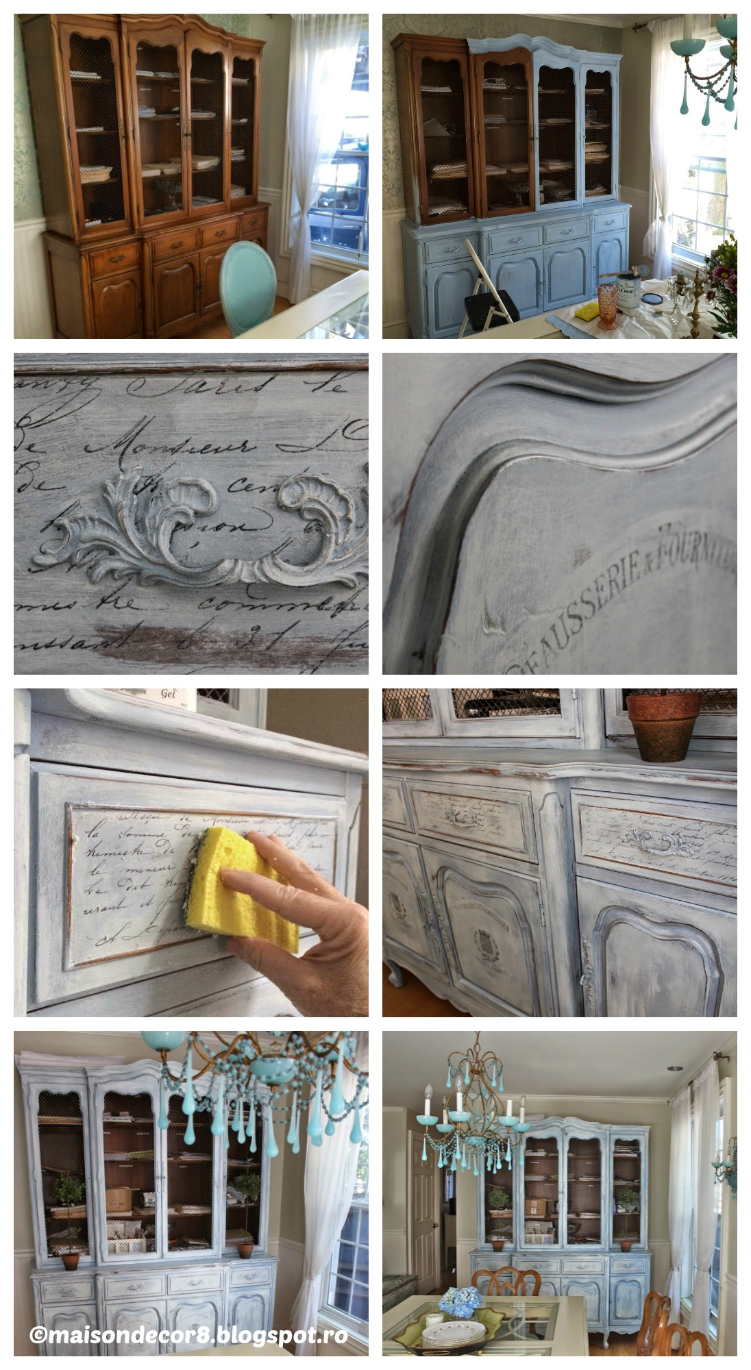 How to make a French Library Cabinet