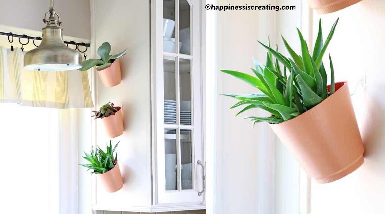 diy kitchen vertical garden tutorial