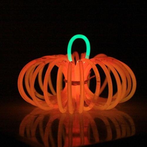 Glow stick Pumpkins