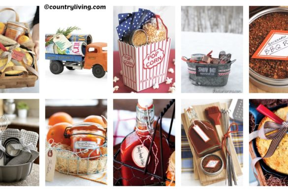 10 Ideas for DIY Christmas Gift Baskets