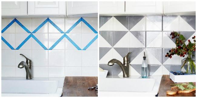 Renewed tiles
