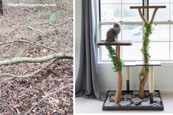 DIY Cat Tree Playground