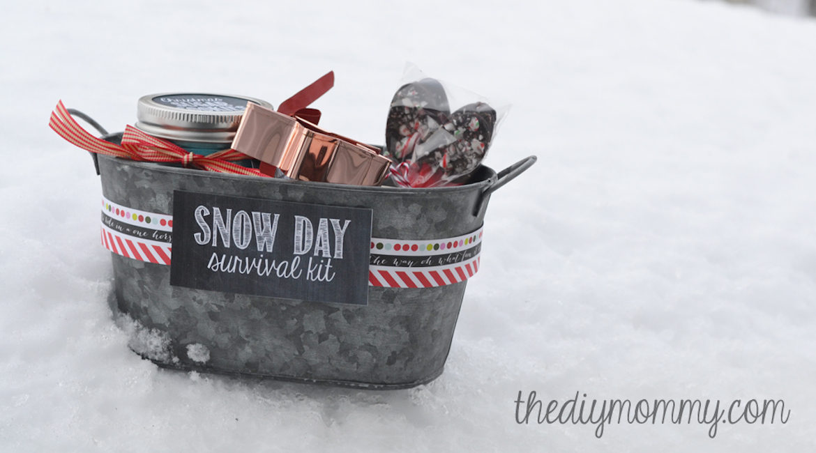 DIY Christmas Snow Day Survival Kit Tutorial