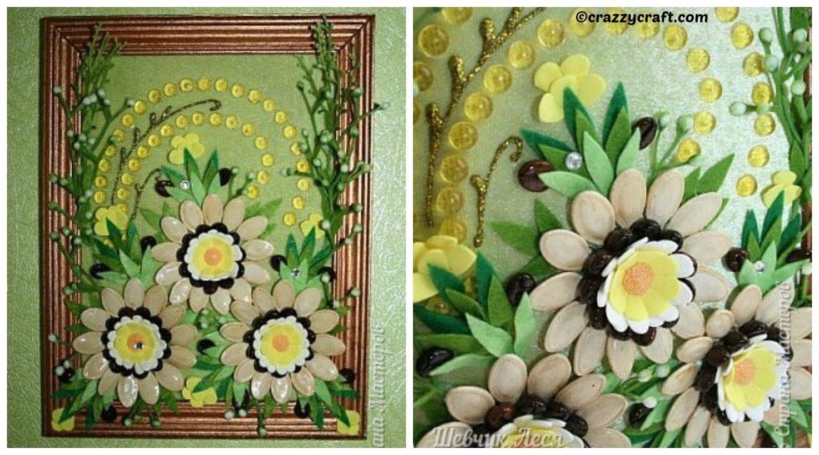 DIY Flowers Picture Gift Tutorial