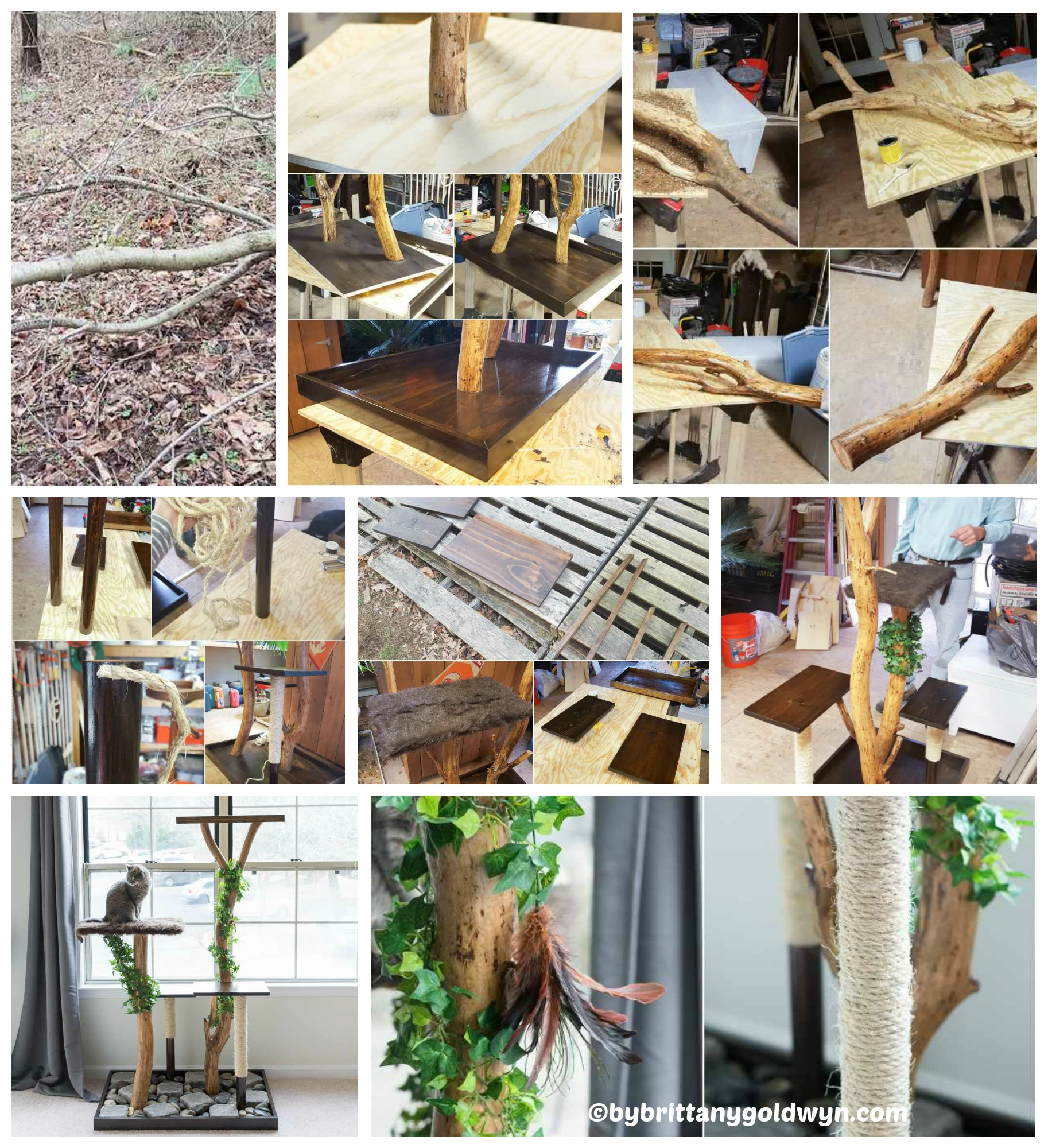 How to maka a Cat Tree Playground