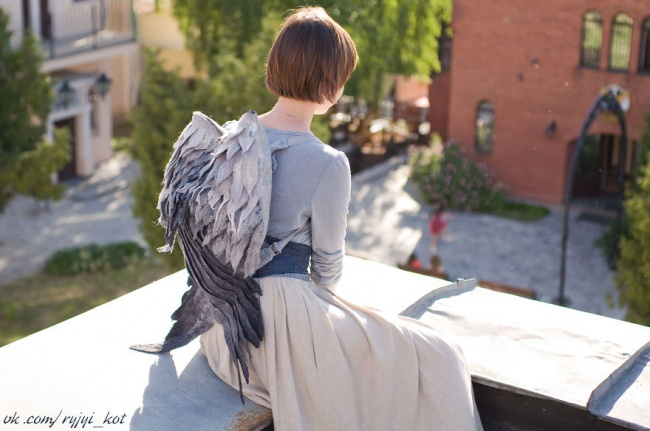 A winged rucksack