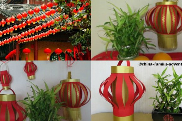 DIY China New Year Lanterns Tutorial