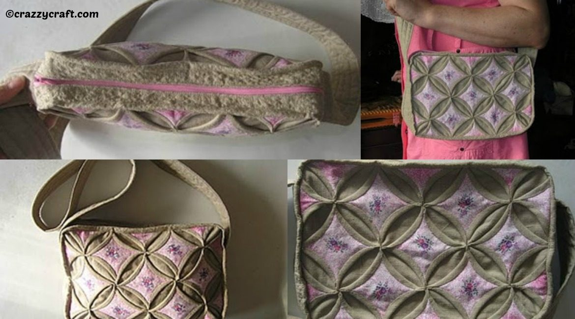 DIY Origami Style Handbag Tutorial