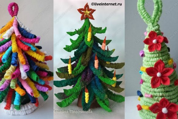 DIY Paper Christmas Tree Tutorial