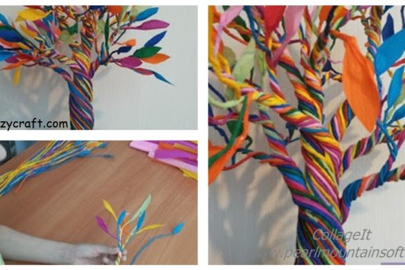 DIY Paper Miracle Tree Tutorial