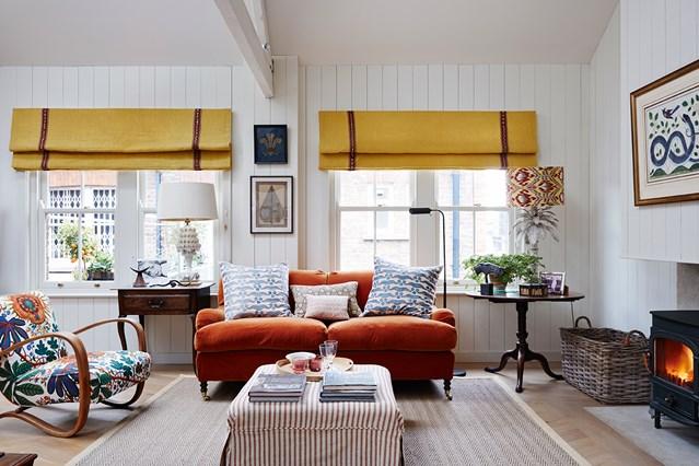 Cosy open-plan livingroom