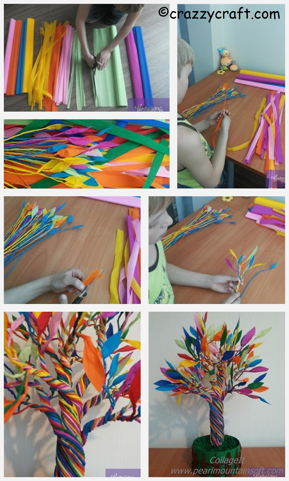 How to make a Paper Miracle Tree