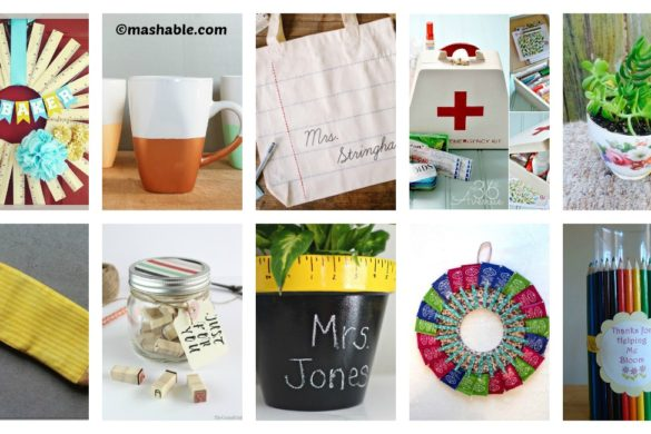 10 DIY gifts for teachers