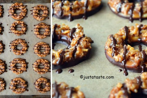 DIY Homemade Girl Scout Cookies Tutorial