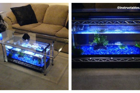DIY Aquarium Coffee Table Tutorial