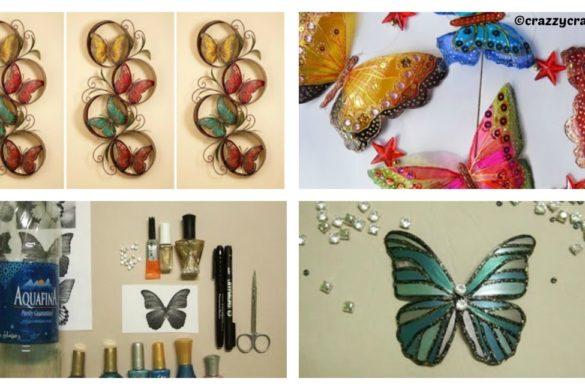 DIY Butterfly Wall Art Tutorial