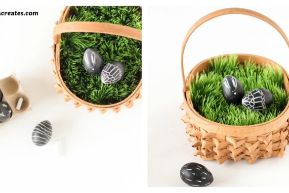DIY Easter Basket Grass Tutorial