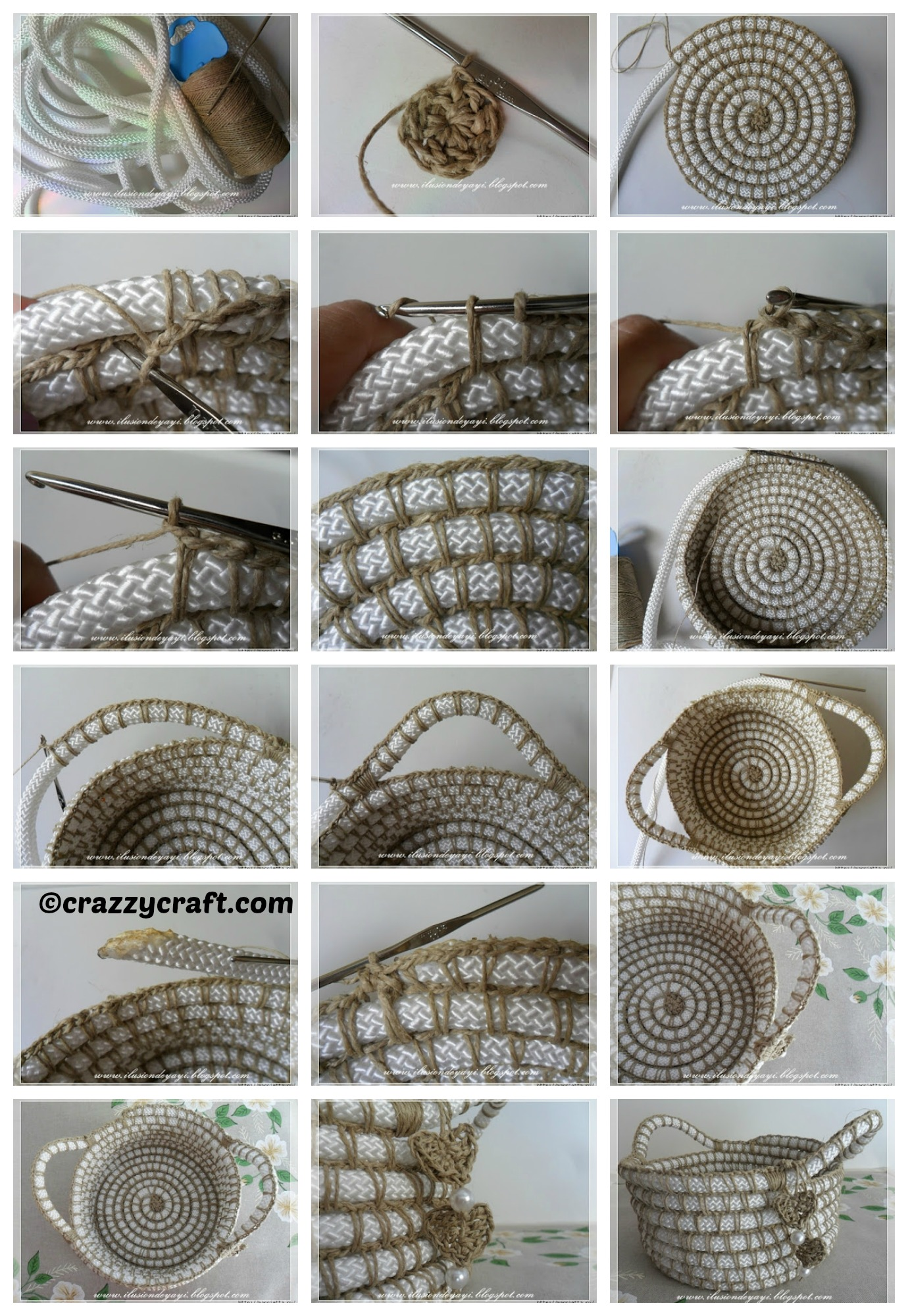 How to make a Nylon Twine Basket