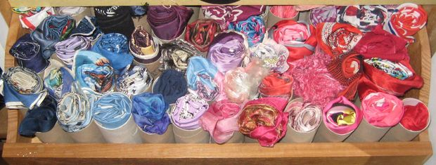 Organize Your Scarfs