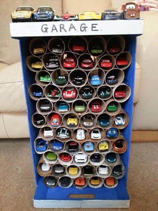 storage container for toy cars