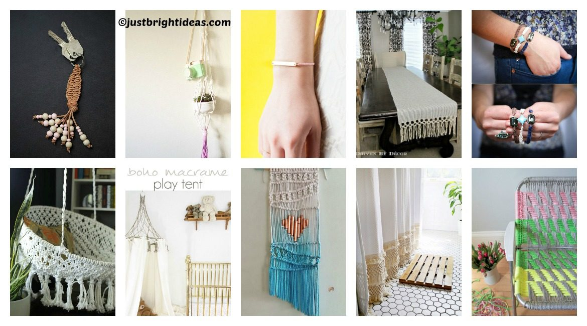 10 ways to use macrame
