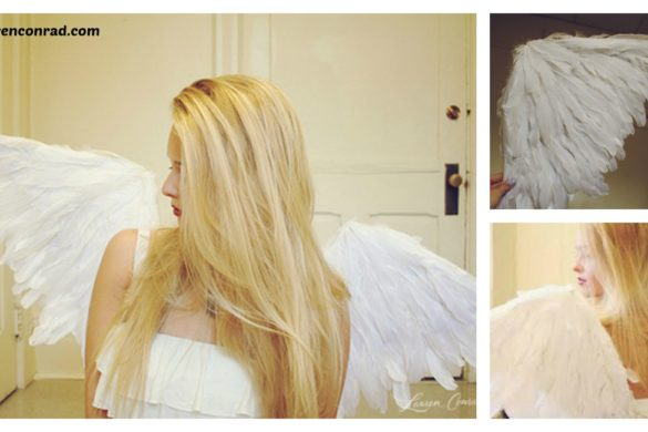 DIY Angel Wings Tutorial