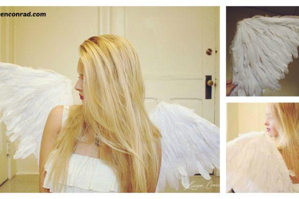 DIY Angel Wings Tutorial