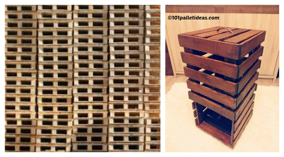 DIY Pallet Bathroom Storage Tutorial
