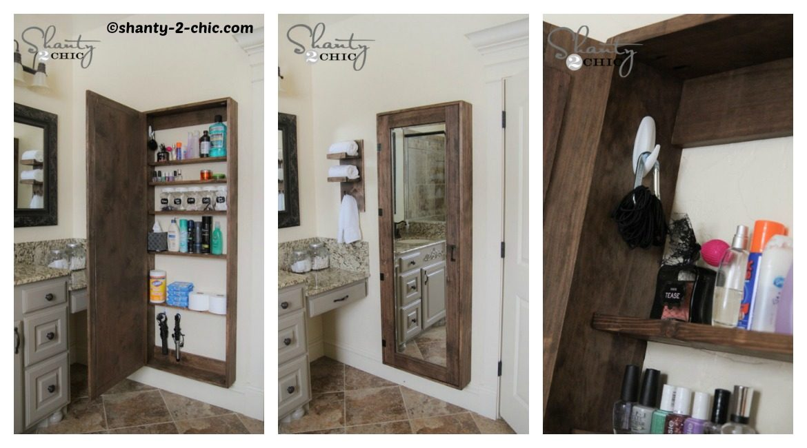 DIY Bathroom Storage Tutorial
