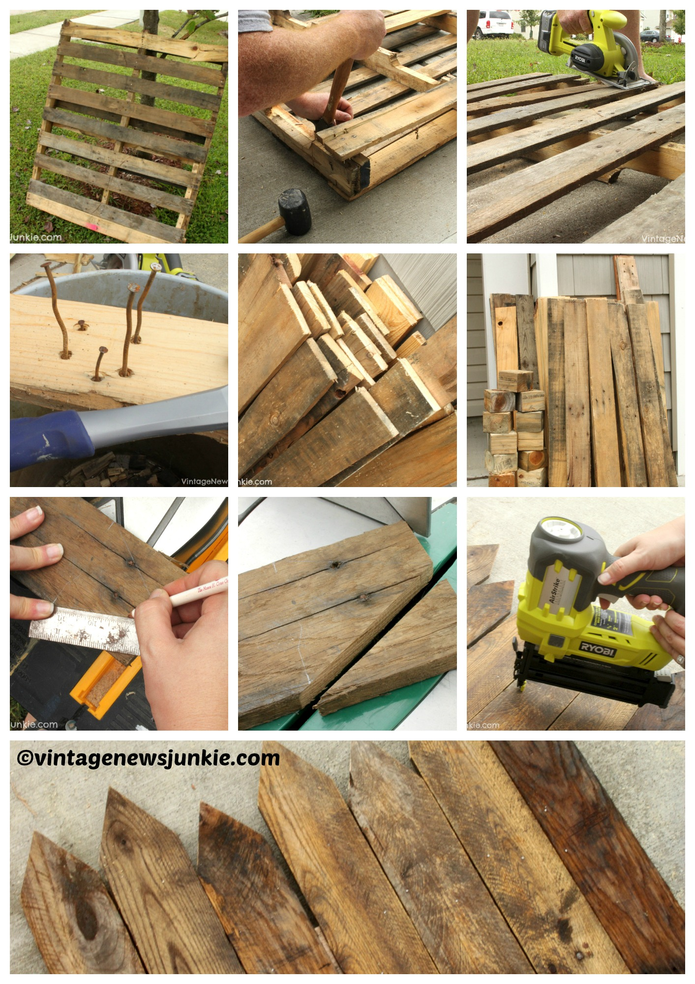 How to make a Mini Picket Fence