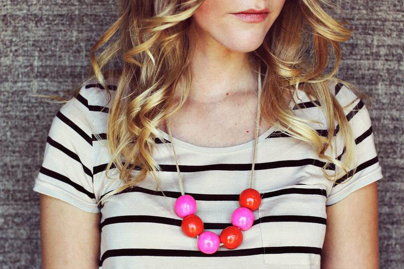 2 - Handmade Bauble Necklace