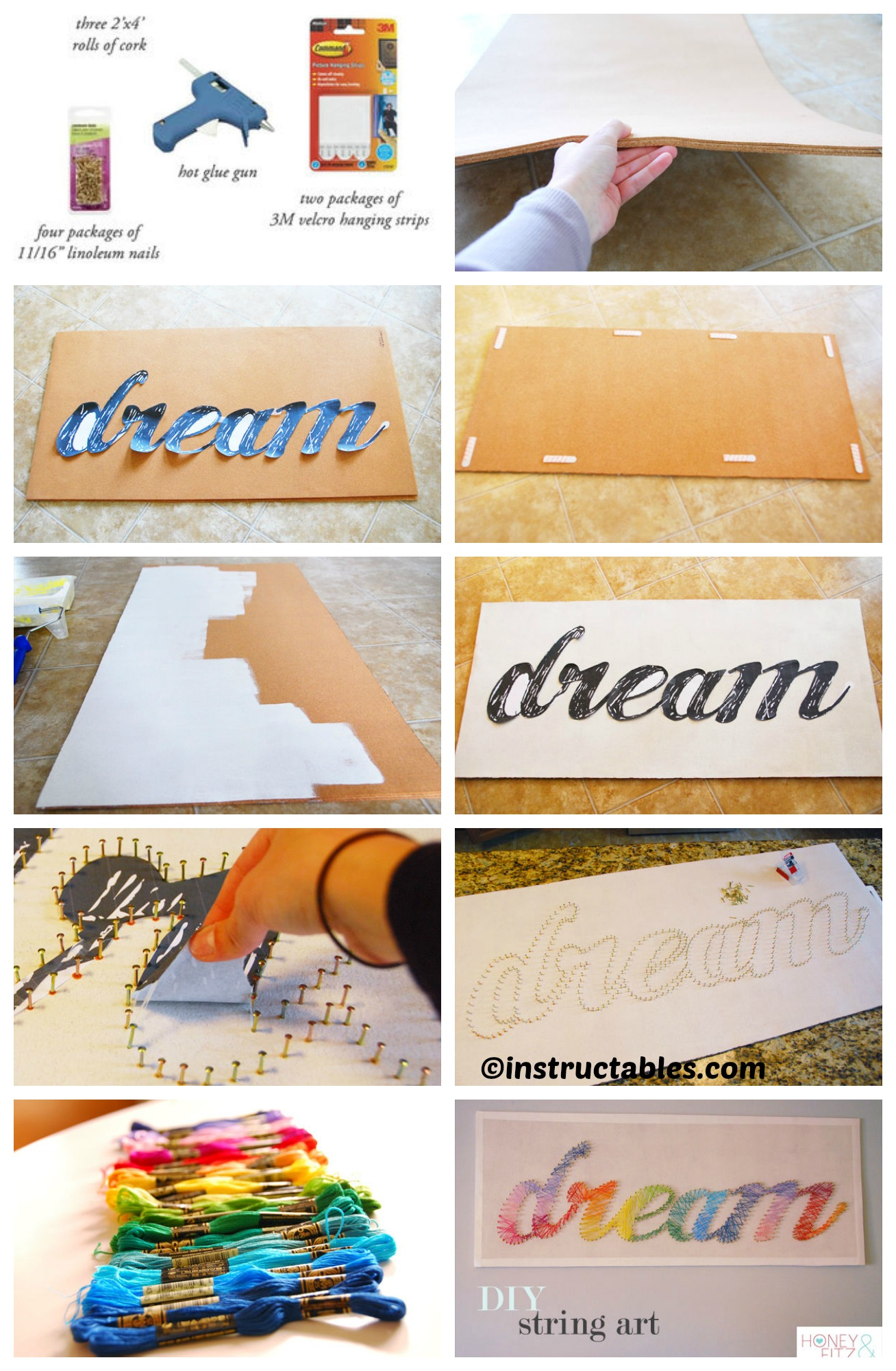 How to make String Wall Art