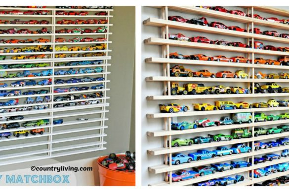 DIY Matchbox Car Garage Tutorial