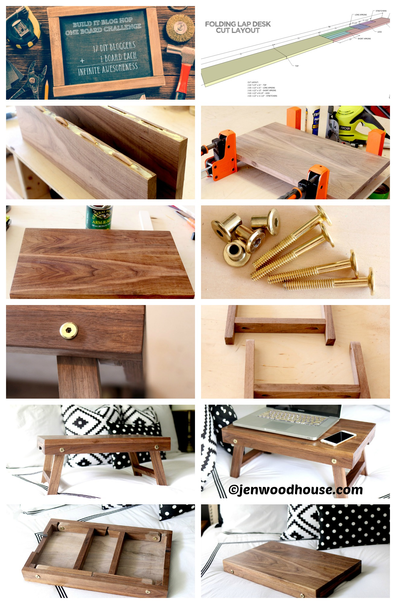 How to make a Folding Lap Bed Table