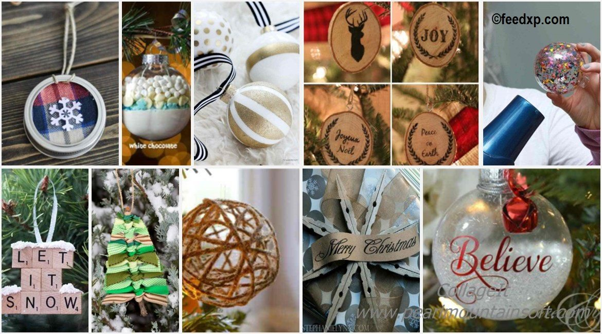 10 Easy Christmas DIY Ornaments