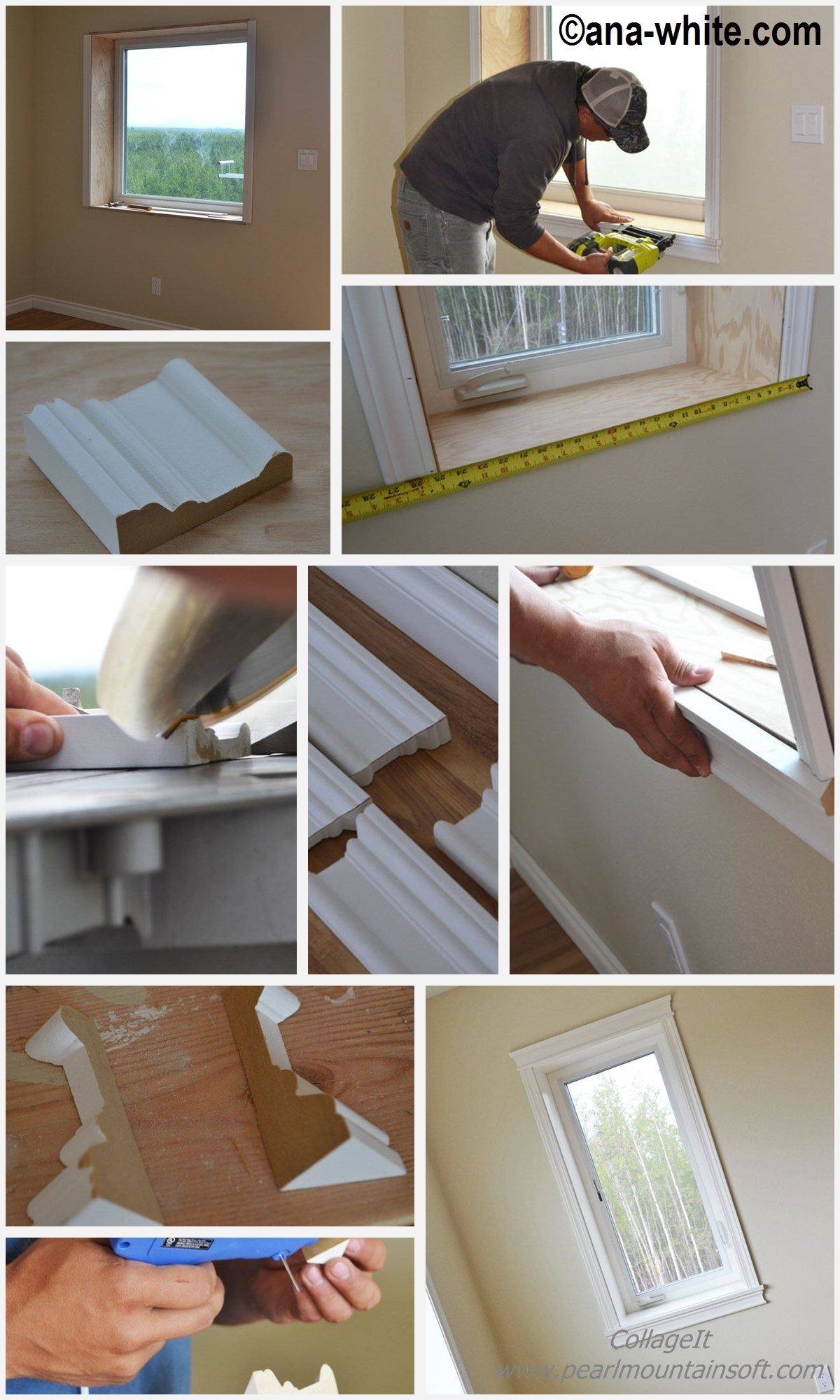 How to do Window Trim