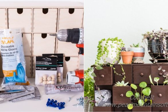 DIY Plant Drawers Tutorial