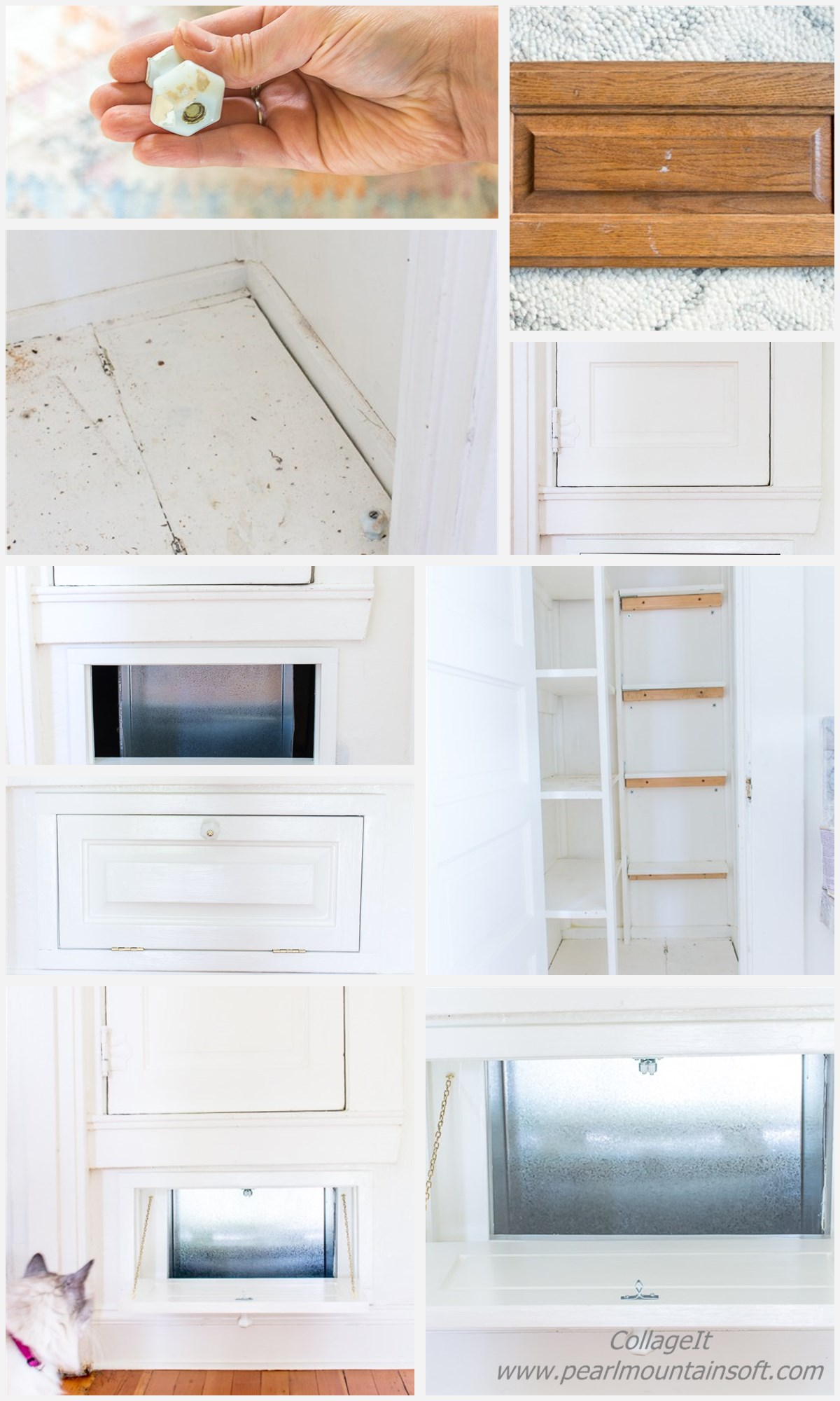 How to make a Vintage Laundry Chute