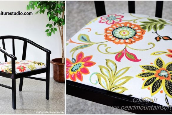 DIY Chair Makeover Tutorial