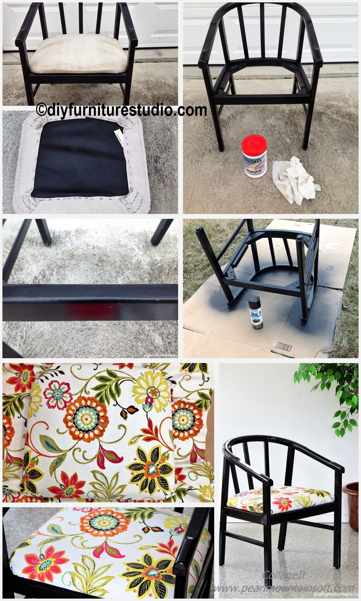 How to do a Chair Makeover