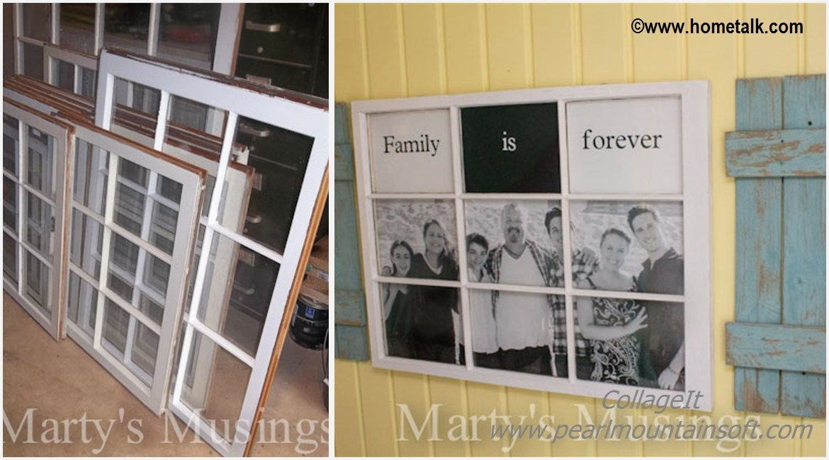 DIY Photo Window Board Tutorial