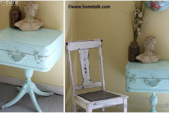 DIY Suitcase Table Tutorial