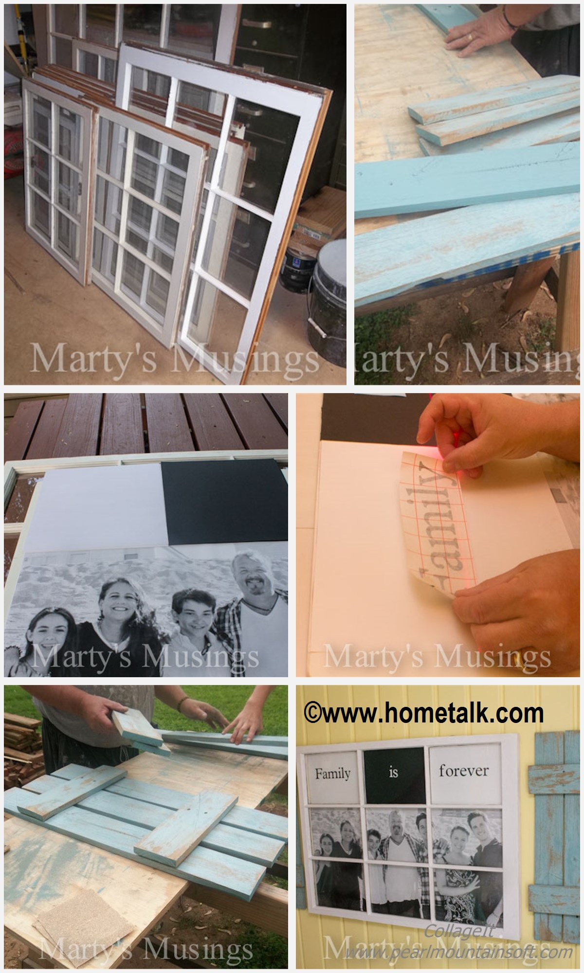 How to make a Photo Window Board