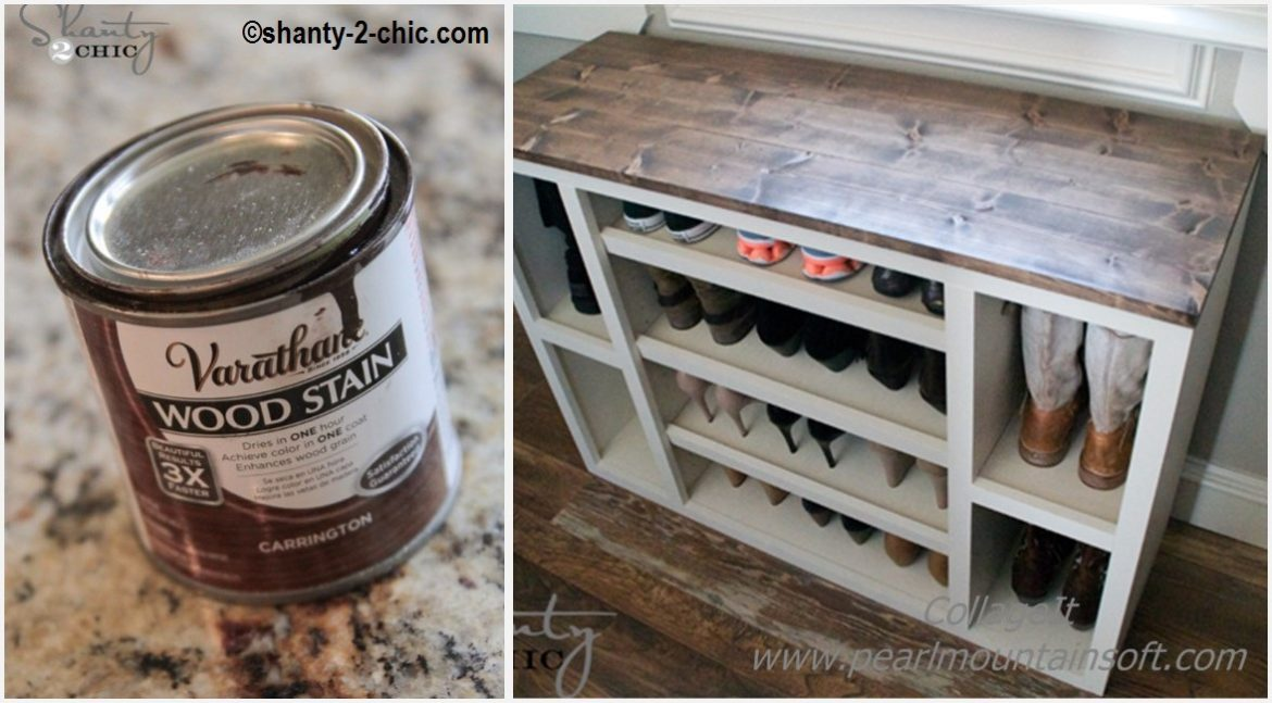 DIY Shoes Storage Cabinet